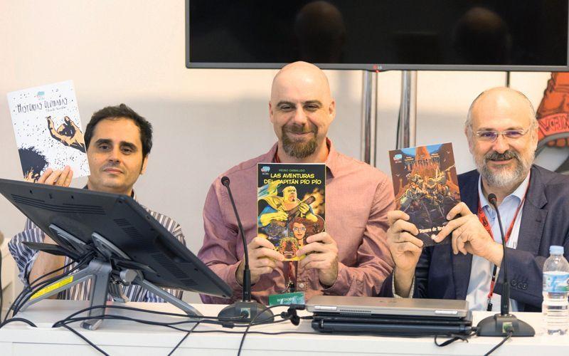Cine + Cómics estará en la Feria del Libro