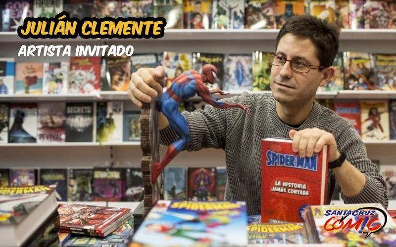 Julián Clemente estará en el Salón tinerfeño