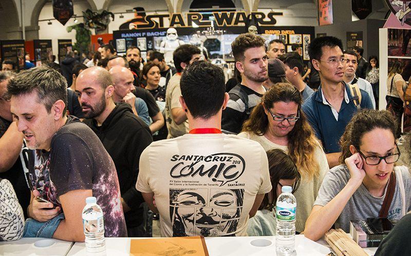 Santa Cruz Cómic 2019 busca voluntarios