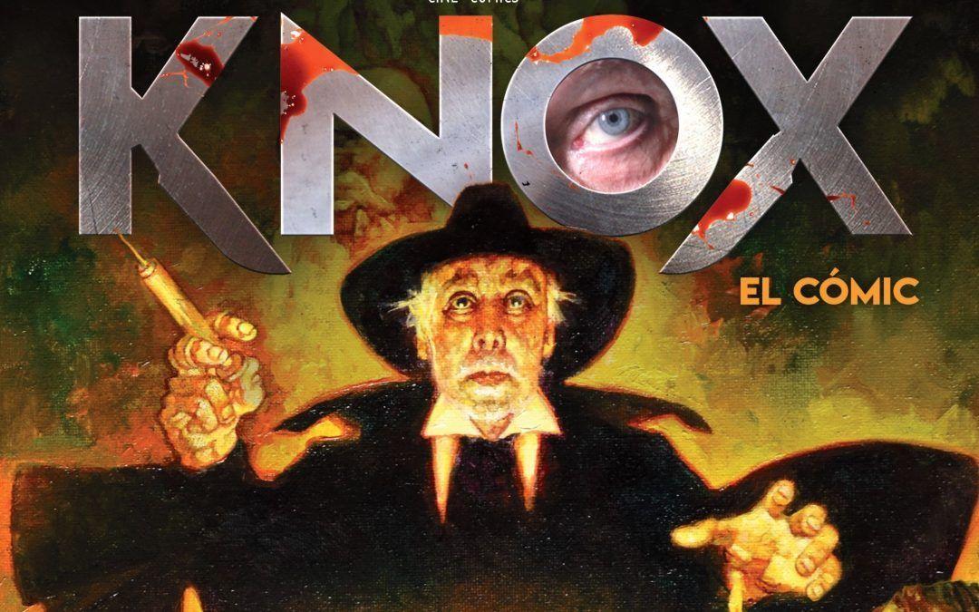 Knox, del cine al cómic